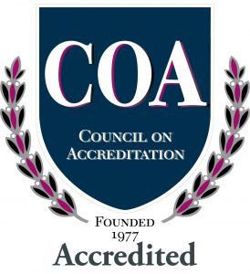 Council on Accreditation Seal of Accreditation