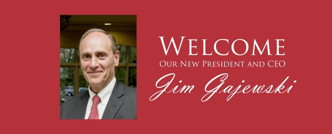 Welcome Jim Gajewski!