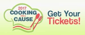 Link to get tickets for Cooking for a Cause 2017