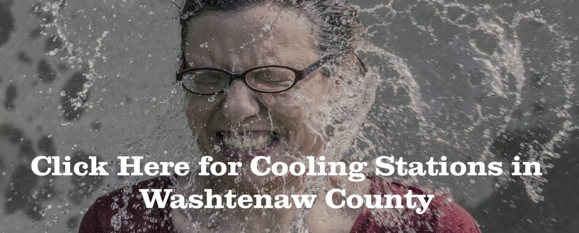 Cooling Stations in Washtenaw County