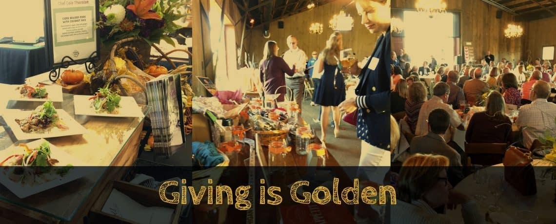 Giving is Golden