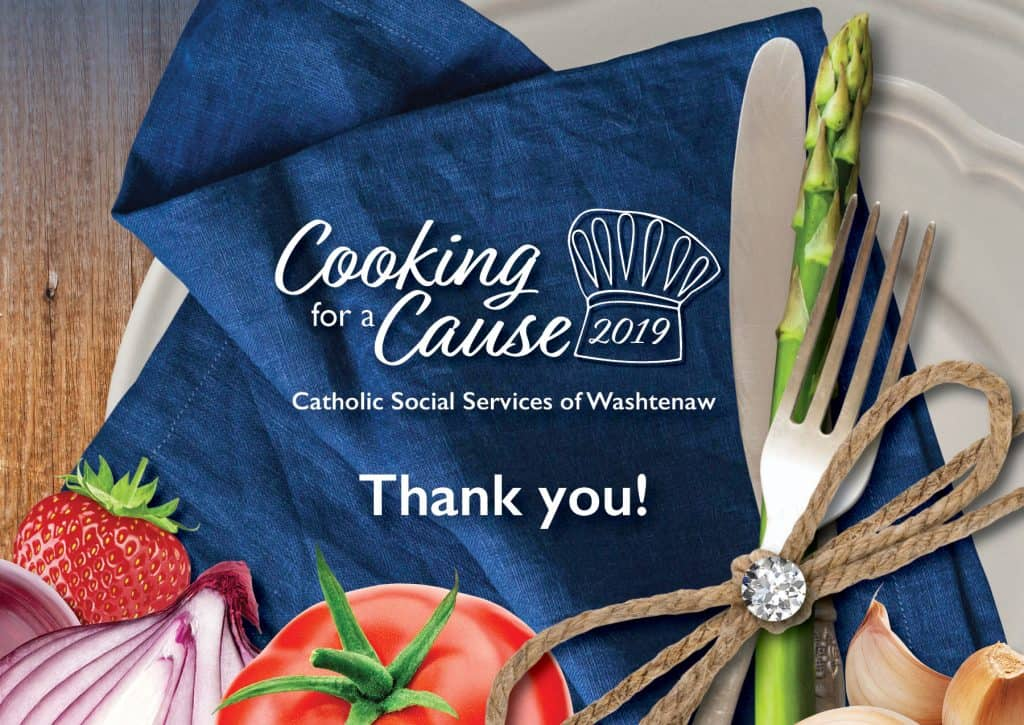 Cooking for a Cause 2019 - Thank you!