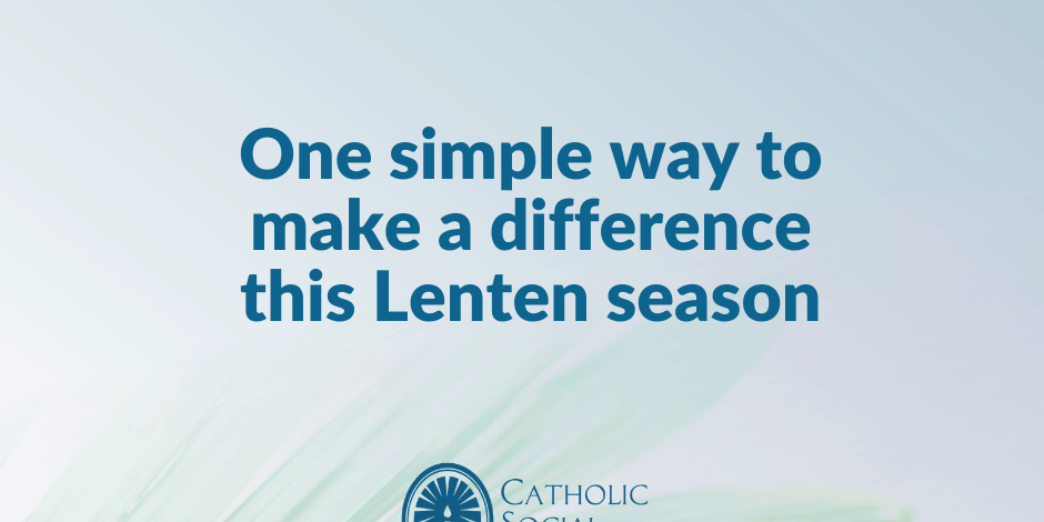 Make a difference this Lenten season